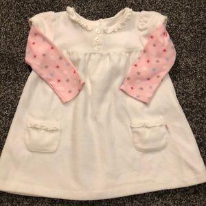 Baby girl fleece dress